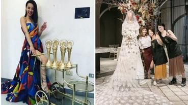 蔡依林再顯神功!手作的婚紗翻糖蛋糕驚艷全場