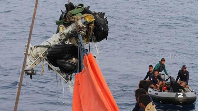 KNKT: Pesawat Lion Air JT 610 Tidak Pecah di Udara