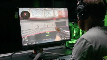 Nvidia 展示 G-Sync 電競顯示器,更新率高達 360Hz