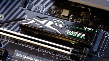 宇瞻 Computex 2018 多項新品提前發布:黑豹 RGB 電競記憶體、感溫變色 M.2 PCIe SSD,以及抗摔防水軍規隨身硬碟