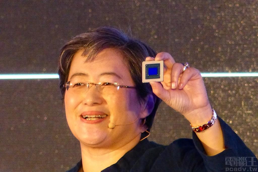 ▲ 藉由 7nm 製程和架構更新,Radeon RX 5000 系列晶粒並不大。