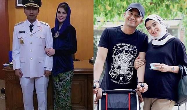 Suami Menang Pilkada, Begini Beda Gaya Arumi Bachsin & Sonya Fatmala