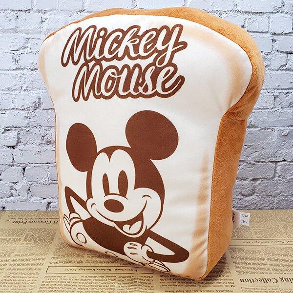 米奇 午睡枕 抱枕 靠墊 Disney 迪士尼正版授權 吐司造型靠墊【蕾寶】