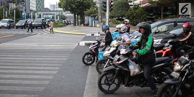 Ilustrasi pelanggaran lalu lintas (Liputan6.com)