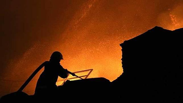 Ilustrasi kebakaran. ANTARA