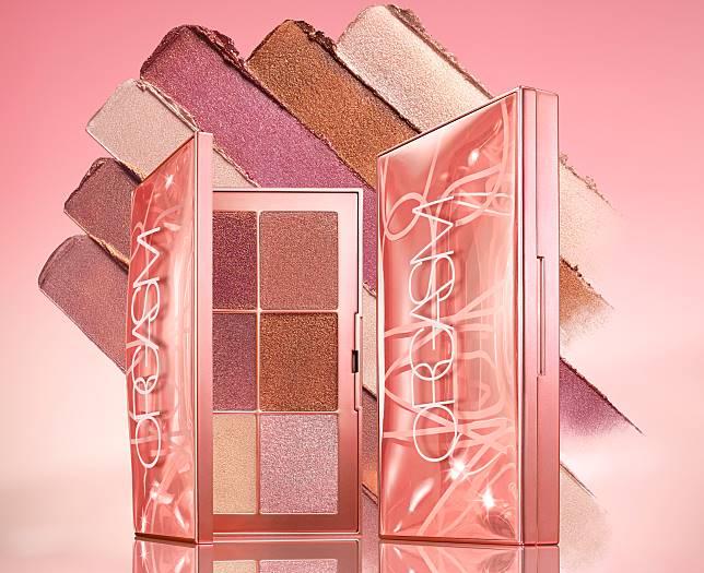 Endless orgasm palette($440)以蜜桃紅色作主調,再配搭淡米、紫紅等5款色調。