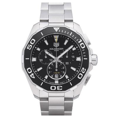 原廠公司貨 300米防水 旋入式表冠 配備藍寶石水晶鏡面 陶瓷計時錶圈搭配不銹鋼表帶 CAY111A.BA0927
