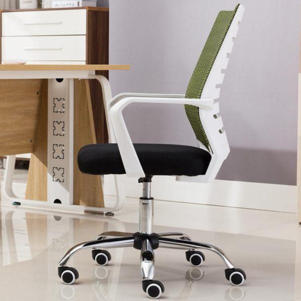 辦公室椅子電腦椅家用會議辦公椅靠背升降轉椅職員現代簡約座椅辦公室椅子JD 美物居家