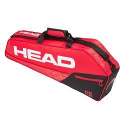 ◎輕便實用,簡約時尚 ◎1層主袋,可置放1-3支球拍 ◎可調整式單肩背帶品牌:HEAD種類:網球類型:球袋材質:100%聚酯纖維尺寸:76x32x9cm重量:300g