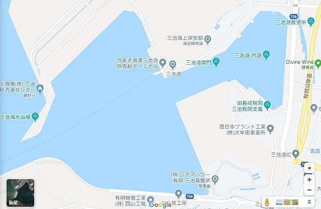 日本唯一現存的閘門式港灣~三池港,2015年被認列為世界遺產。(互聯網)