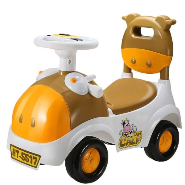 嬰幼兒童扭扭車寶寶滑行車子可坐帶音樂溜溜車玩具男孩女孩1-3歲