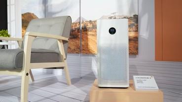 小米空氣淨化器 3 開賣,新增 OLED 觸控螢幕、CADR 提升 29%、售價 4,495 元