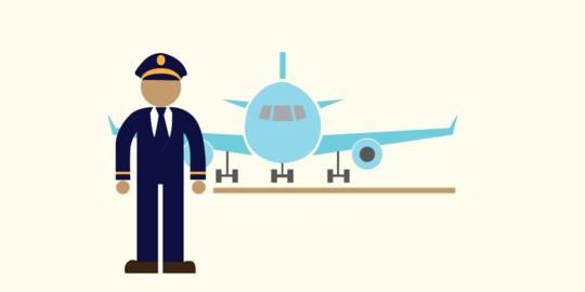 Sebelum Pesawat Terbang, Pria Nigeria Lompat ke Sayap