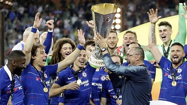 4 Catatan Spesial Maurizio Sarri Bersama Chelsea