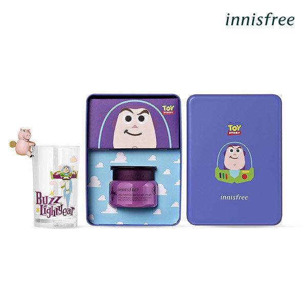 韓國 Innisfree X 玩具總動員聯名款 濟州寒蘭複合滋養霜(巴斯光年鐵盒組) 50ml