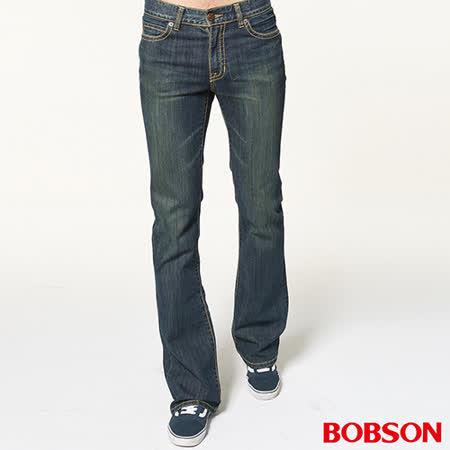 BOBSON 男款輕量低腰喇叭褲 (1702-53)
