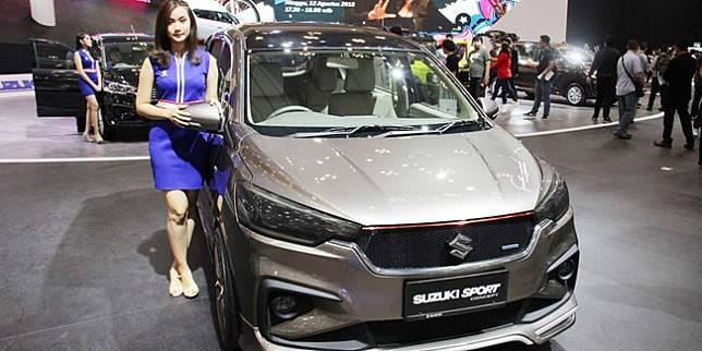 Suzuki Ertiga Sport Concept saat GIIAS 2018 (Otosia.com/Nazarudin Ray)