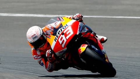 Hasil FP3 MotoGP Spanyol 2021: Taakaki Nakagami Tercepat, Marc Marquez Terjatuh (1)