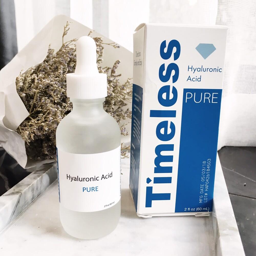 美國Timeless高保濕100%玻尿酸精華液60ml