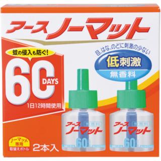 アースノーマット 60日  替え 無香性