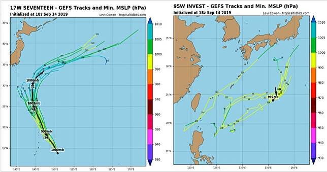 西太平洋又有颱風將生成 模擬路徑曝光