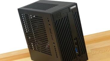 發揮 Ryzen APU 高整合性優勢,ASRock DeskMini A300 Mini-STX 迷你準系統效能、溫度、噪音分析實測