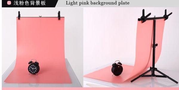 攝影架攝影背景板2節支架 PVC板背景布架子攝影棚背景架攝影器材道晶彩生活