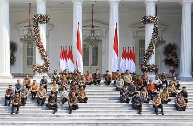 Jokowi's Indonesia Onward Cabinet 2019-2024