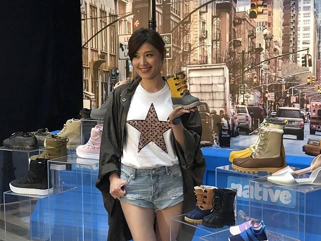 蘇慧倫出席鞋品發表會。記者林士傑/攝影