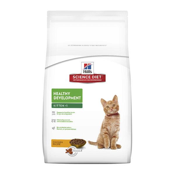為成長中幼貓提供精確、均衡且容易消化吸收的營養