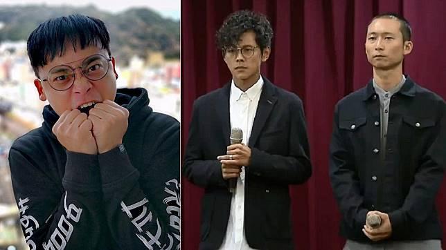 阿松(左圖)、阿翔(右圖左)和浩子(右圖右)。圖/翻攝自阿松臉書、TVBS資料照