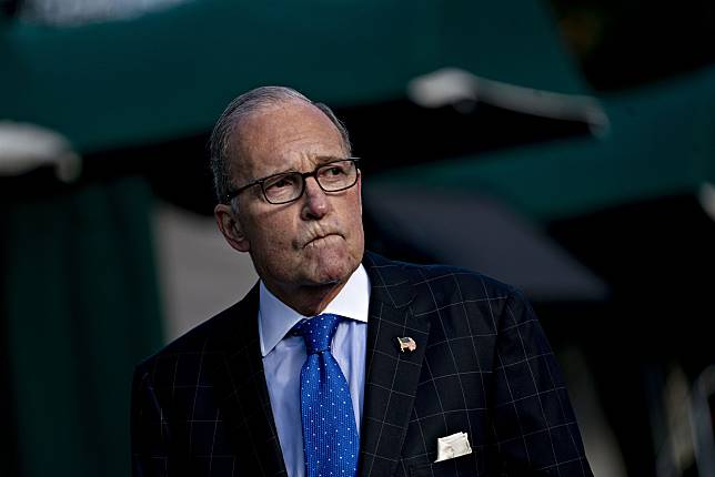 Larry Kudlow Photographer: Andrew Harrer/Bloomberg