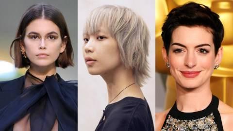 Inspirasi Model Rambut Pendek Wanita Untuk Tampil Beda Di 2020