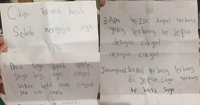 Jadi Guru Muda 5 Bulan Wanita Ini Dapat 15 Surat Cinta Dari