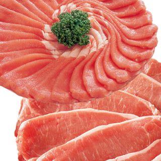 (アメリカ産)麦豚ロースうす切り肉・カツソテー用