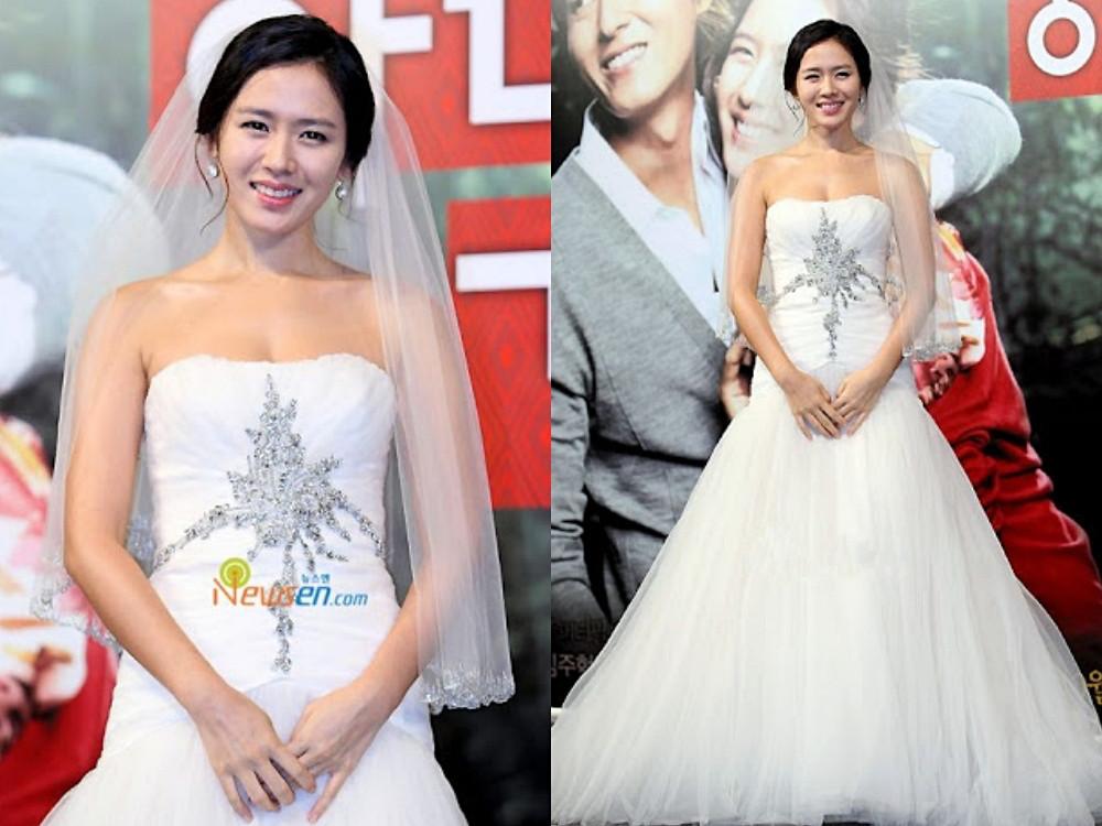 孫藝珍《妻子結婚了》婚紗
