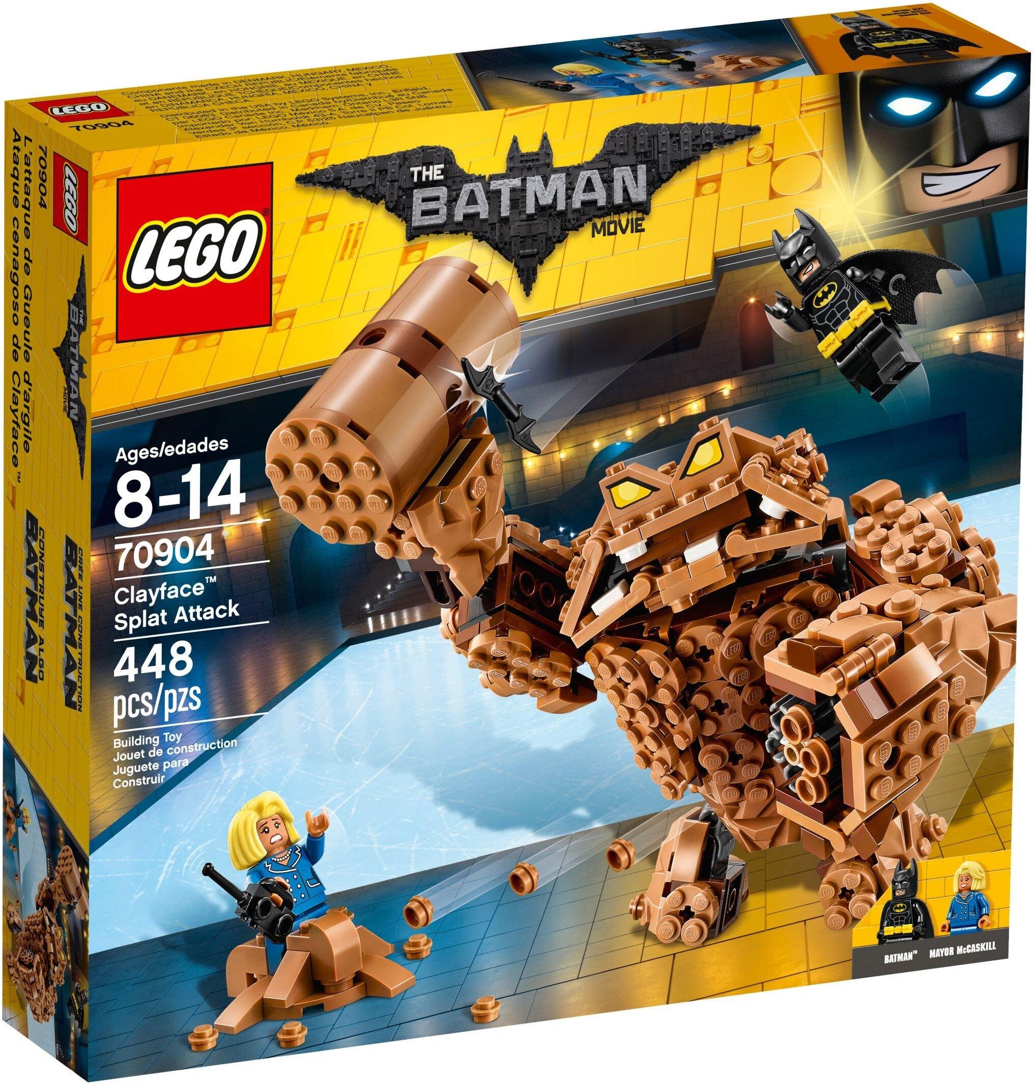 ☆勳寶玩具舖【現貨】LEGO 樂高 蝙蝠俠電影 70904 泥人猛擊 Clayface Splat Attack
