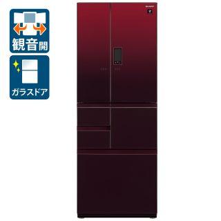 フレンチ6ドア冷蔵庫(SJ-AF50G-R)