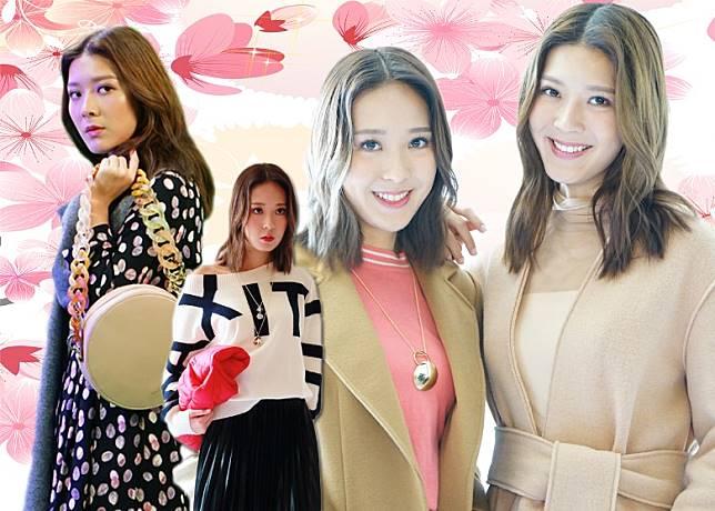 余香凝余潔瀅為時尚品牌MAX&Co.拍攝秋冬季宣傳片。