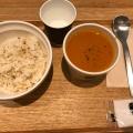 オマール海老のビスク - 実際訪問したユーザーが直接撮影して投稿した四谷スープ専門店スープストックトーキョー アトレ四谷店の写真のメニュー情報