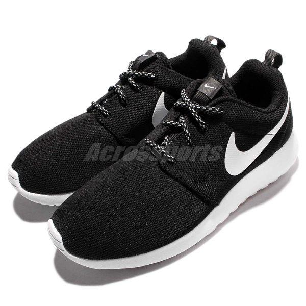 Nike 休閒慢跑鞋 Wmns Roshe One 黑 白 基本款 運動鞋 女鞋 Rosherun【PUMP306】 844994-002