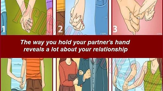 Tes Kepribadian: Cara bergandengan tangan [buzzquiz]