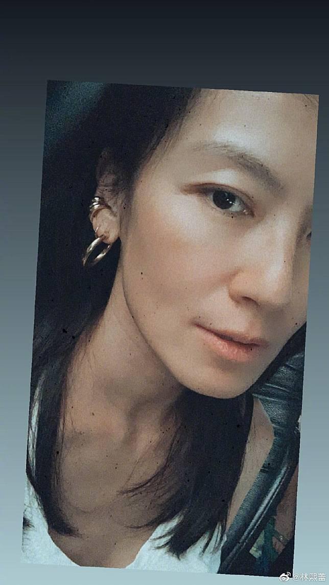 林熙蕾Po了最新的自拍照。