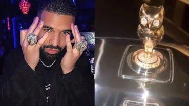 極致炫富!Drake 豪砸 2 千萬訂製勞斯萊斯 Bushukan 車款,女神像變「貓頭鷹」奢華程度爆表