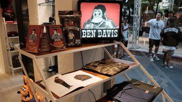 起點現場 工裝世家的美國西岸品牌 BEN DAVIS 於台灣開設期間限定店