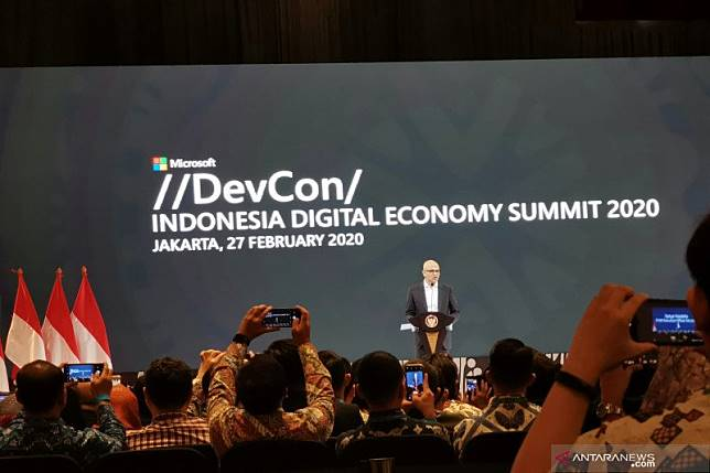 CEO Microsoft sambut rencana investasi data center Indonesia