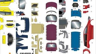 GAZOO 釋出 27 款豐田汽車免費紙模型,1936~2012 年都有