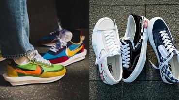 老爹鞋穿膩了嗎?那你該試試這 10 雙鞋頭們的新寵「解構式球鞋」!