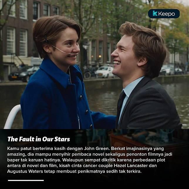 The Fault in Our Stars menunjukkan bahwa kebahagiaan tiap orang akan datang di waktu yang tak terduga