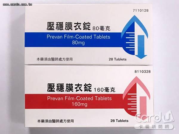 健亞生技生產的兩款「壓穩膜衣錠」降血壓藥物,檢出含致癌物質「N-亞硝基二甲胺」(圖/食藥署 提供)